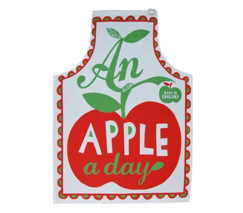 Keukenschort An apple a day
