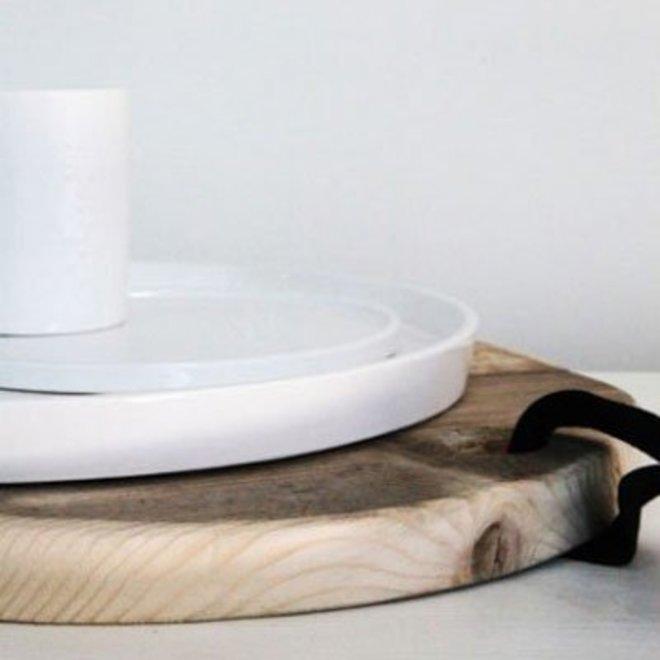 Round Wooden Shelf
