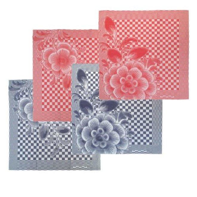 Flower Tea Towels