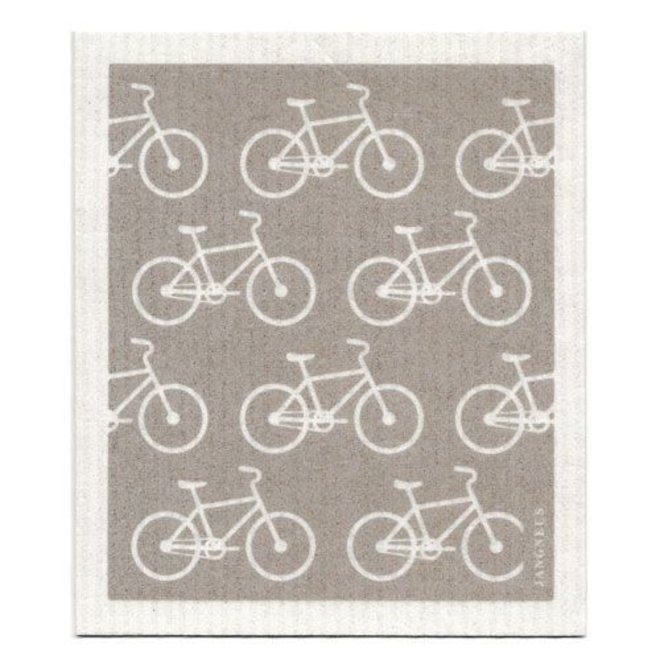 Bicycles Dish Cloth