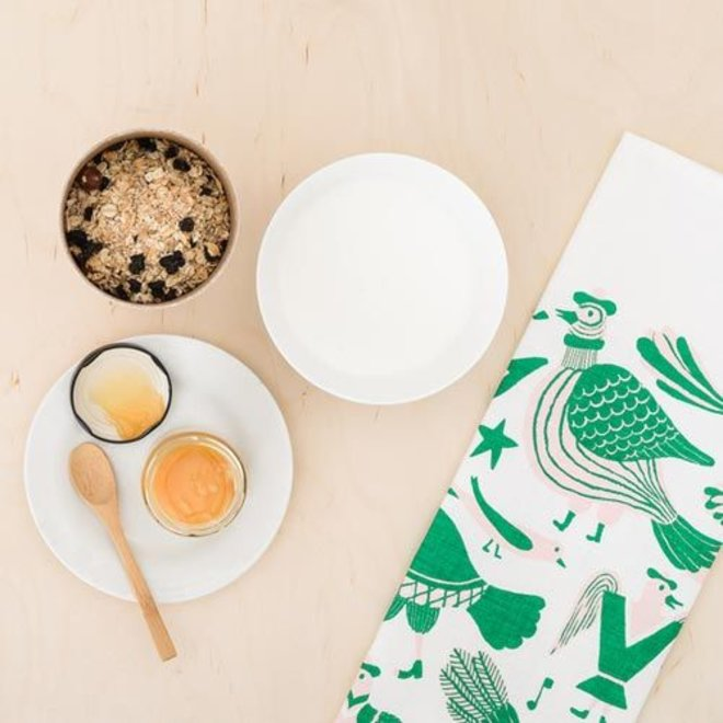 Laulunnit Tea Towel