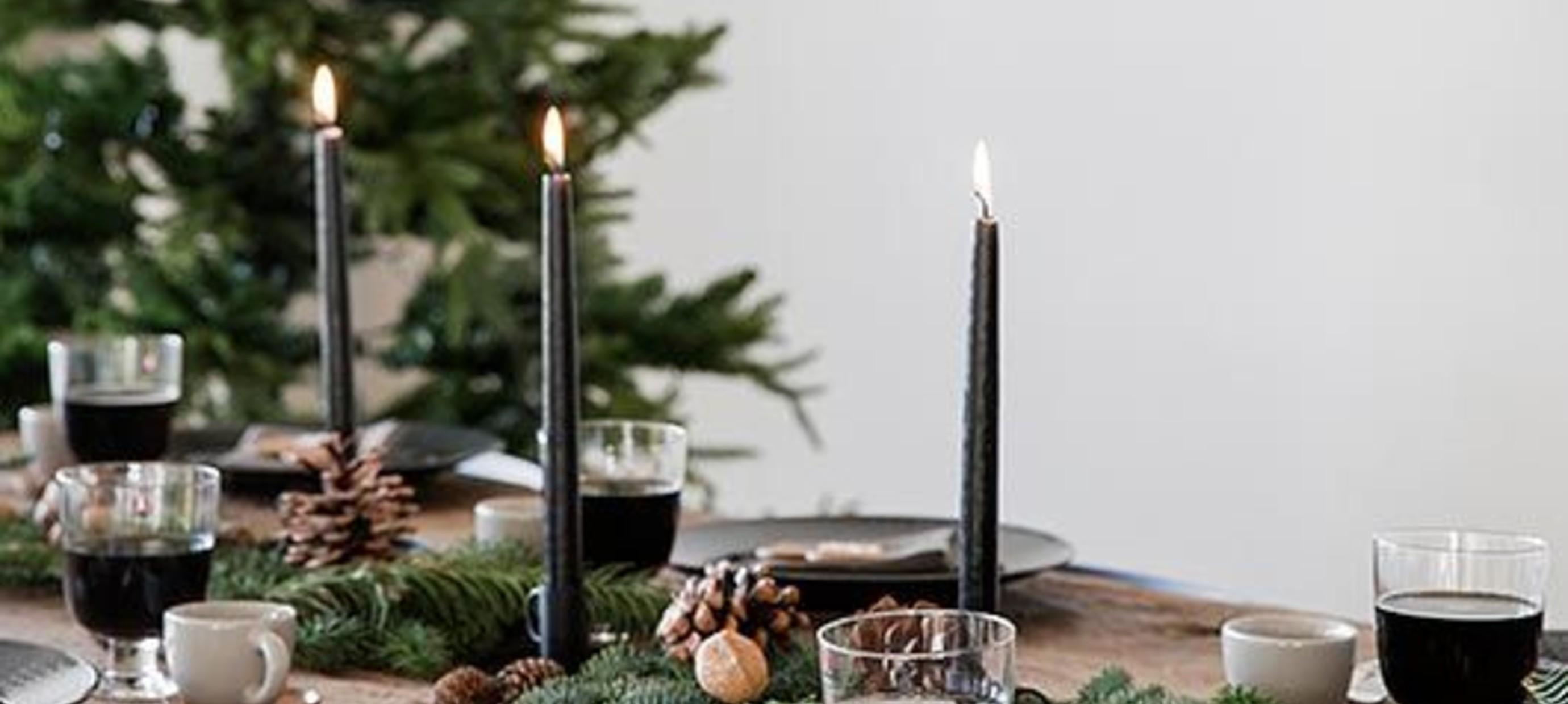 Perfecte tafelaankleding kerst