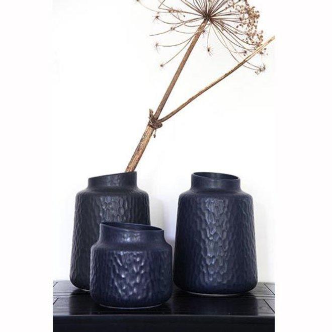 Vas Vase ink blue