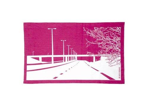 Motorway Tea Towel