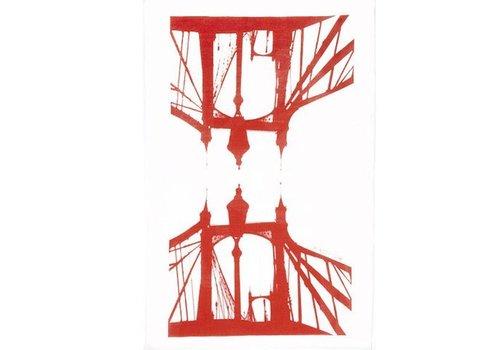 Albert Bridge Tea Towel