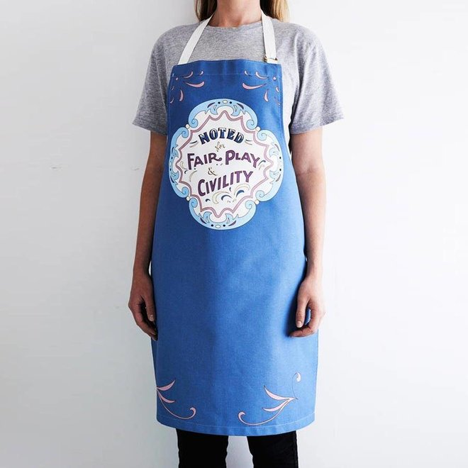 Noted Fair Play Apron