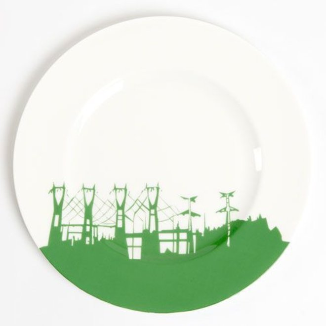 Pylons Plate