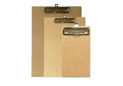 Bronyl Wooden Clip board A5