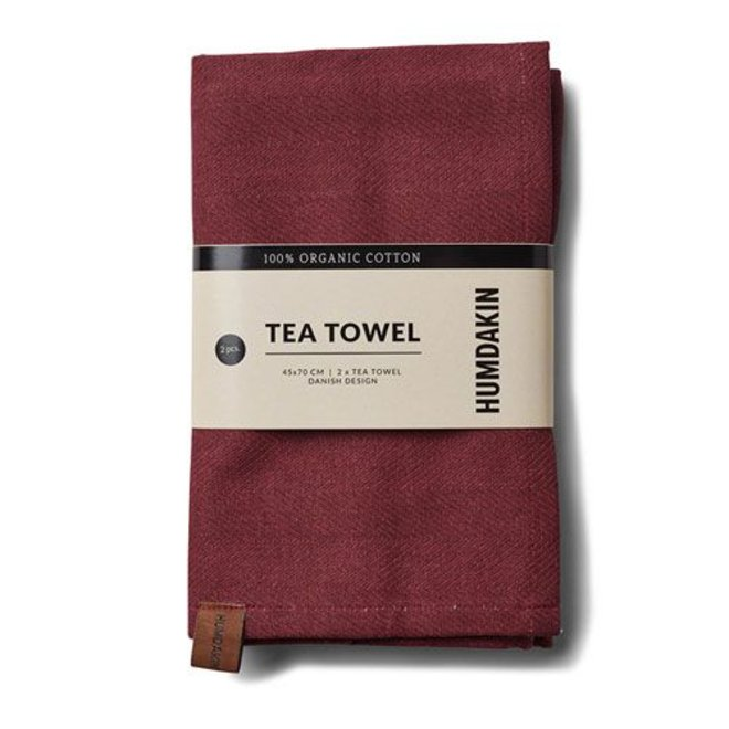 Pink Red Humdakin Tea Towel