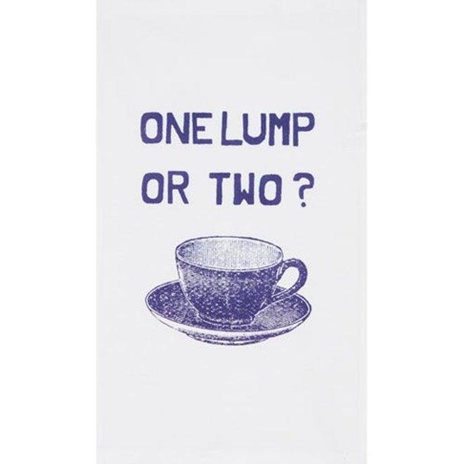 Theedoek One lump or two?