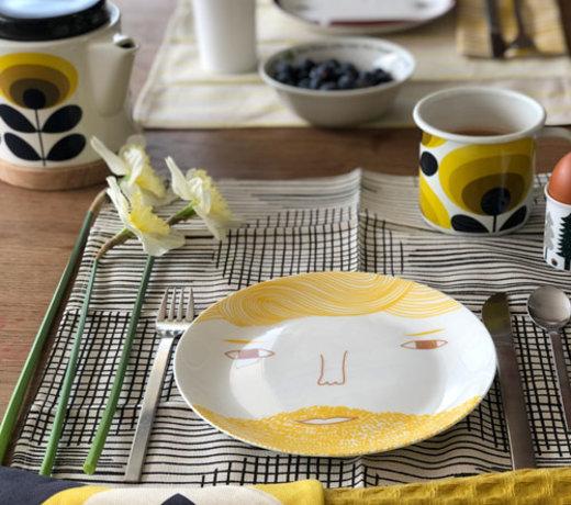 geel in de keuken