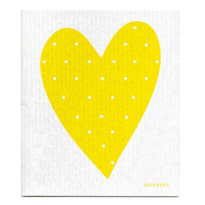 Dishcloth Heart