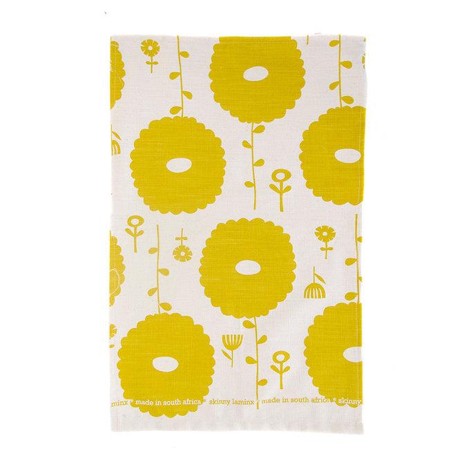 Flower dreams Tea Towel