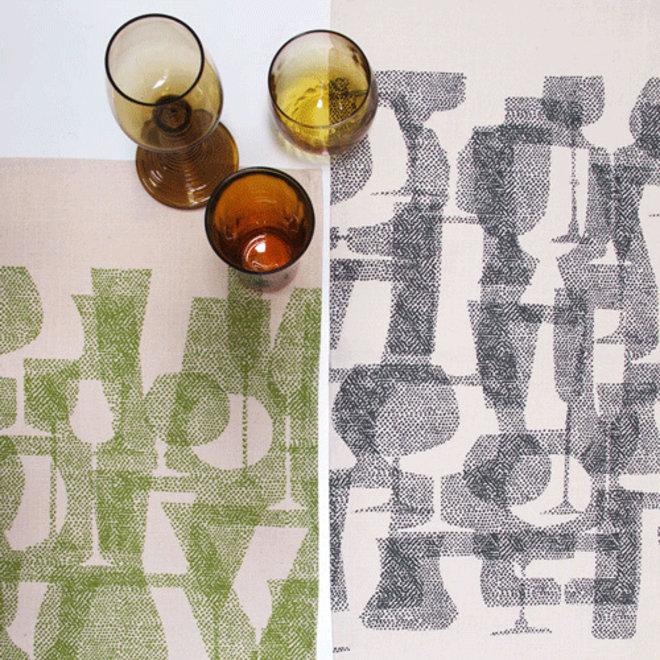 Shadow Glass Tea Towel