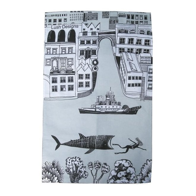 Tea towel Big Fish