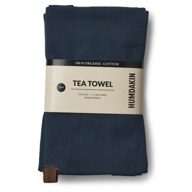 Green Blue Humdakin Tea Towel