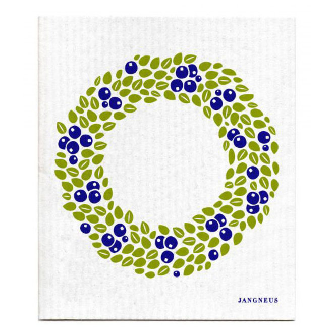 Wreath dish cloth