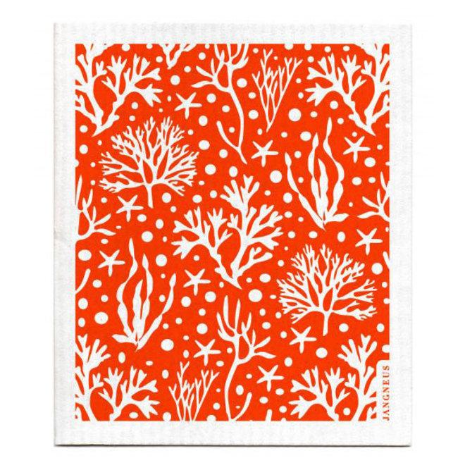 Dish Cloth Coral