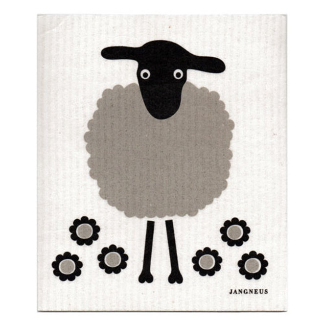 Tea towel and dishcloth set Sheeps
