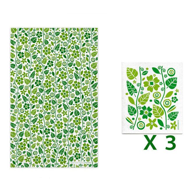 Kitchen textile set Gardening