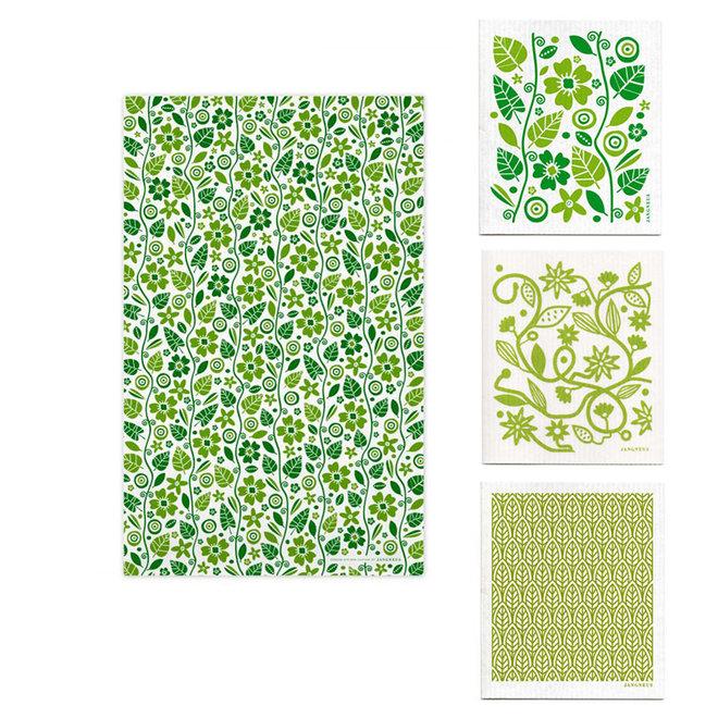 Kitchen textile set Garden