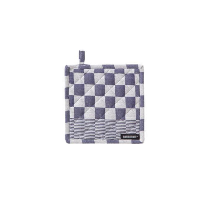 Potholder Barbeque blue (1x)