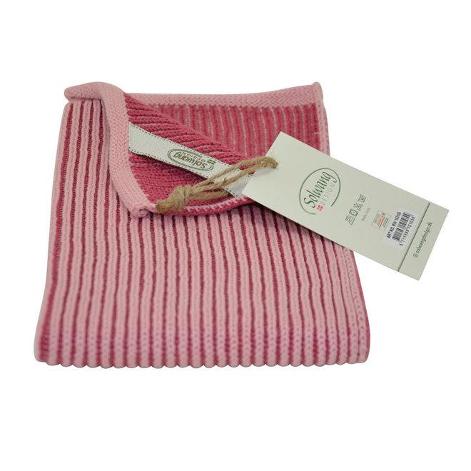 Knitted towel Ribrib Spa Spa Rose