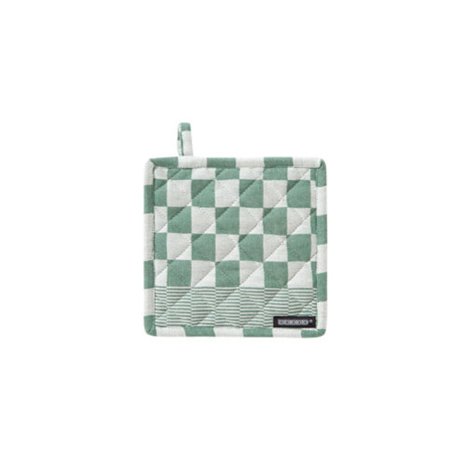 Potholder Barbeque green (1x)