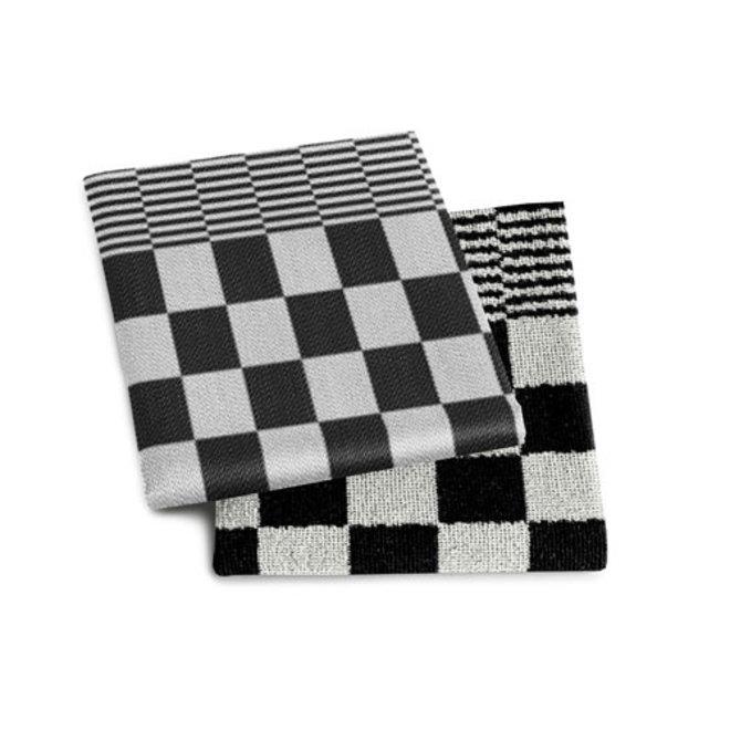 Tea towel barbeque black