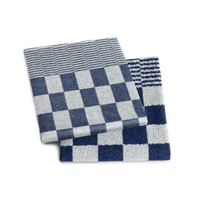 Tea towel barbeque blue