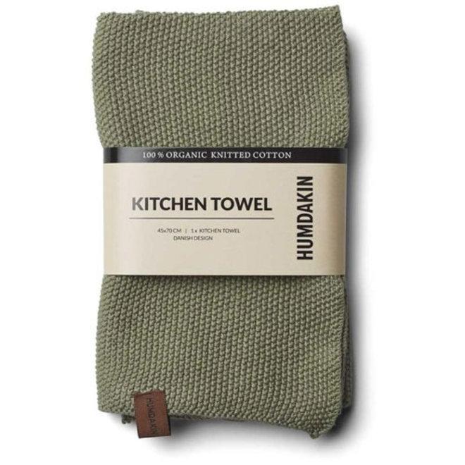 Knitted towel Oak