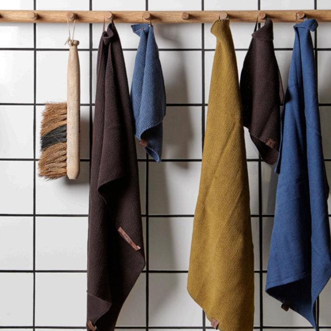Knitted towel Mushroom