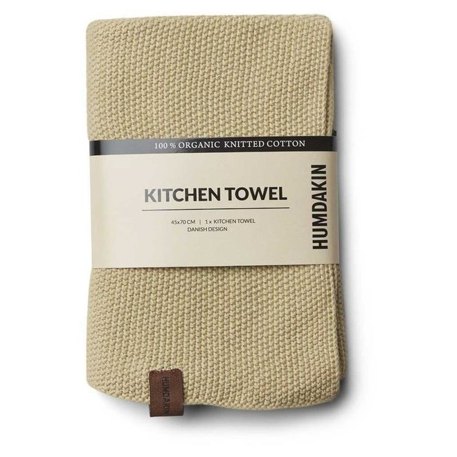 Knitted Towel Khaki