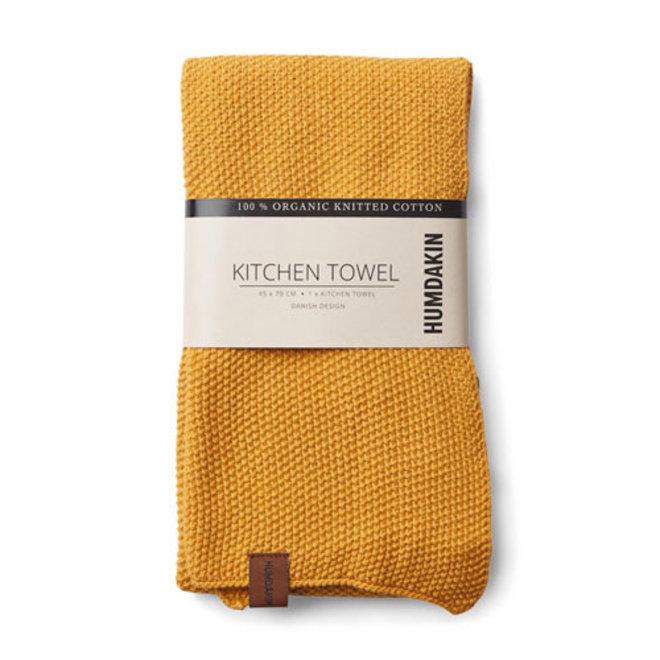 Gebreide handdoek Yellow Fall