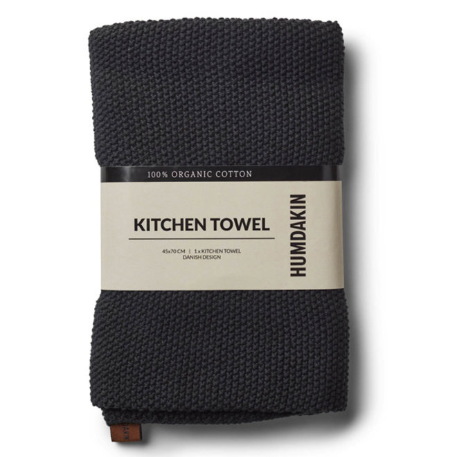 Knitted Towel Coal