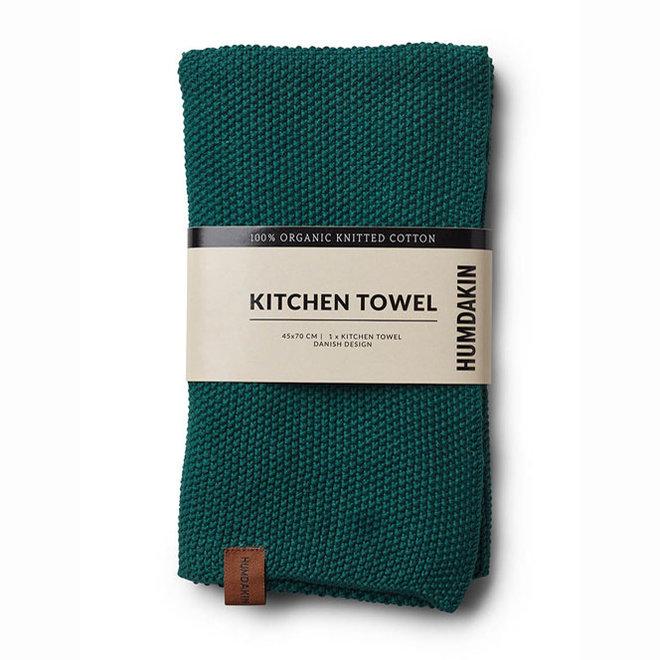 Dark Wood tea towel and hand towel set