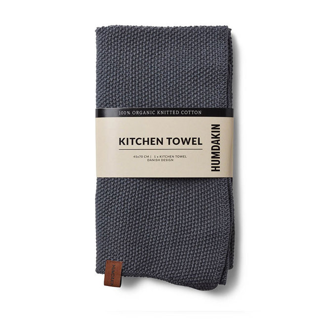 Dark Ash tea towel and hand towel set