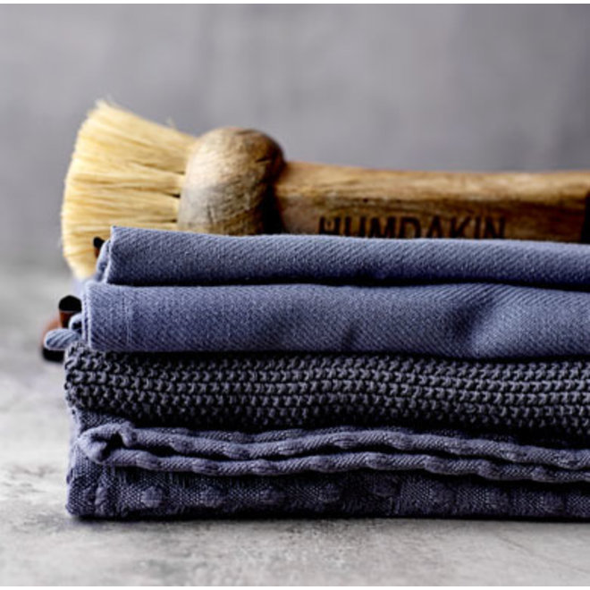 Knitted towel Dark Ash