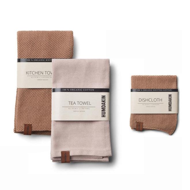 Latte kitchen textile set