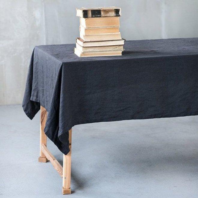 Table cloth linen black (2,5m. x 1,38 m.)