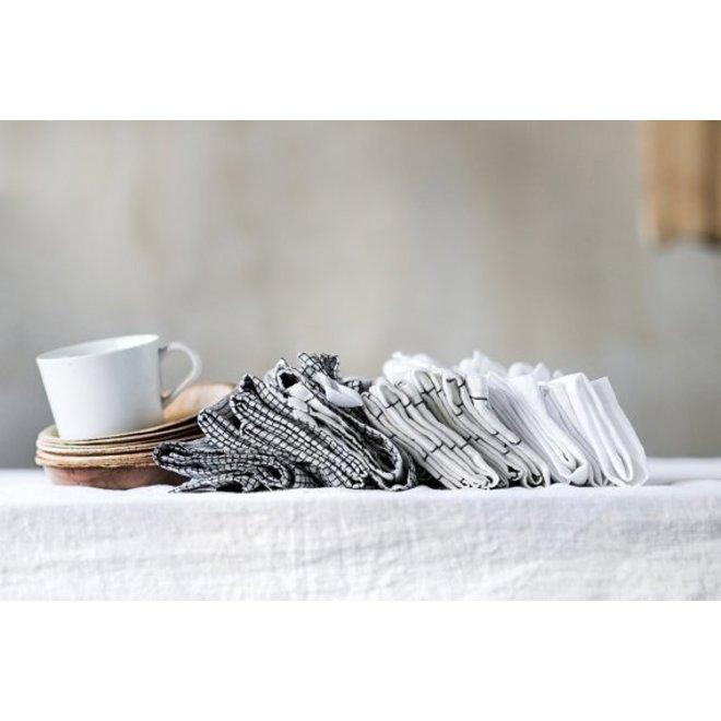 Table cloth linen white (2,5m. x 1,38 m.)