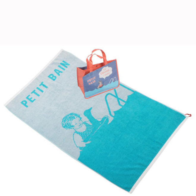 Bath towel petit bain