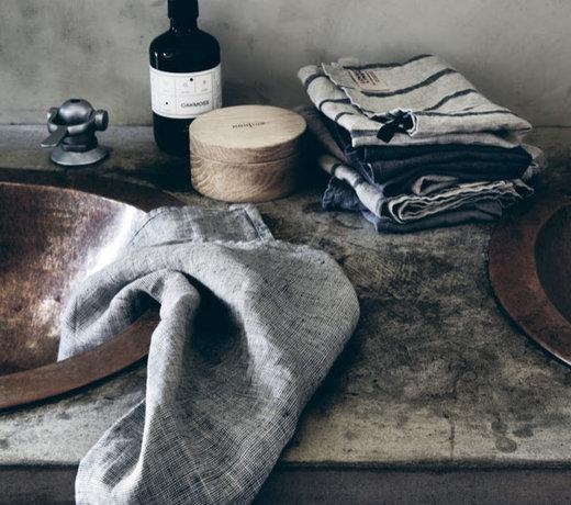 glass cloth - linen tea towel