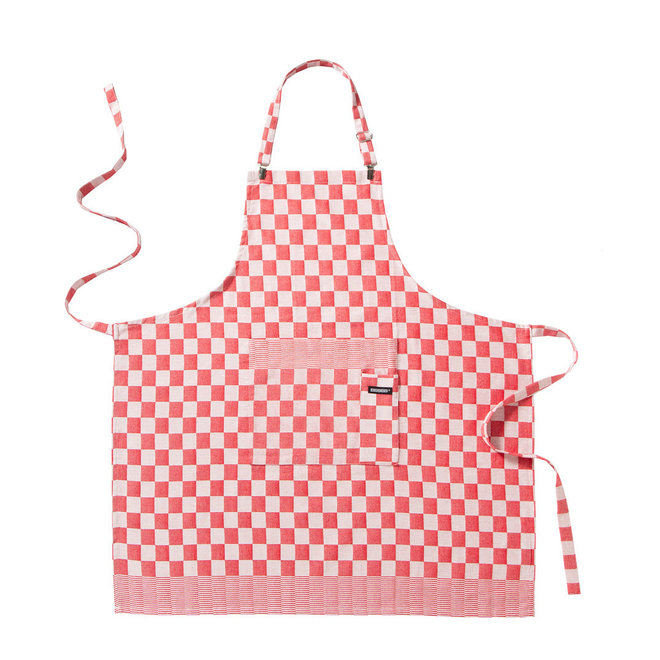 Apron Barbeque red