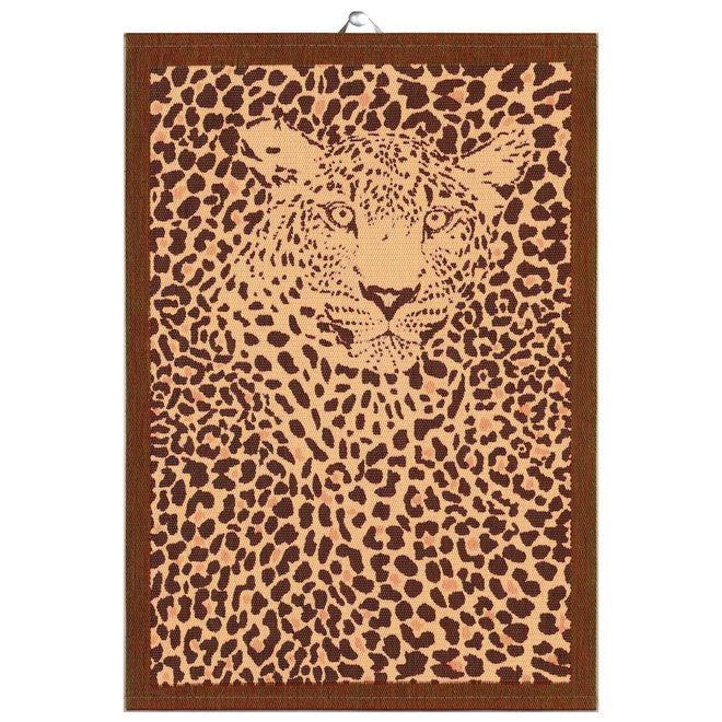 Tea towel Leopa