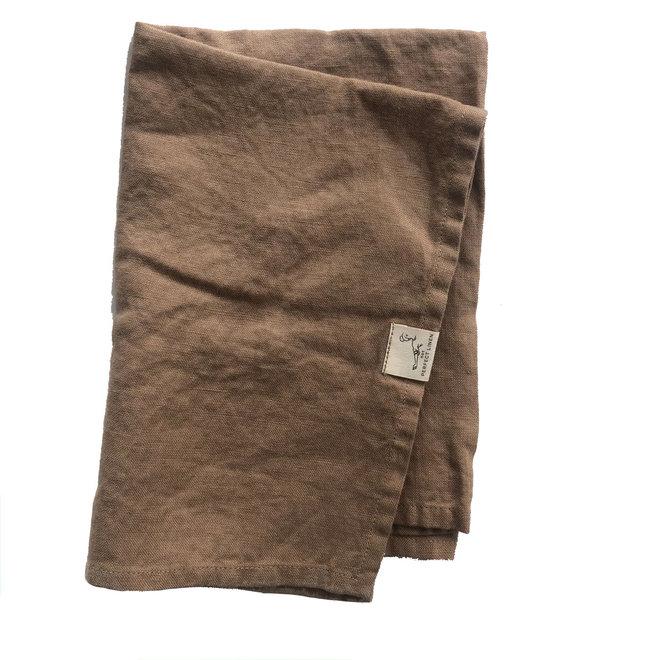 Linen Tea Towel Taupe