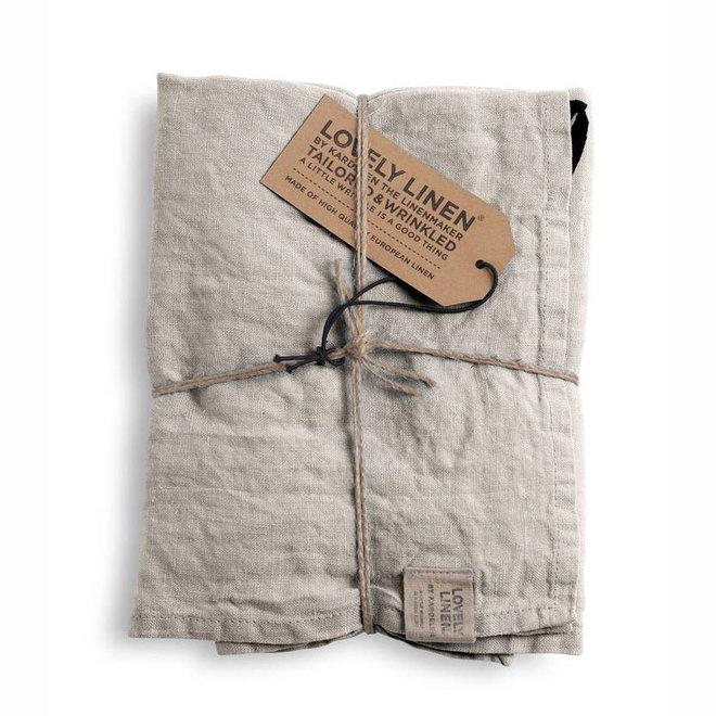 Linen Tea towel Misty Meadow