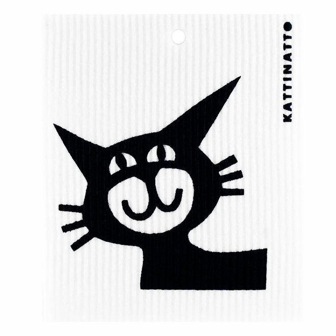 Dishcloth Cat head