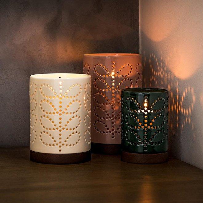 Orla Kiely Ceramic Lantern Linear Stem