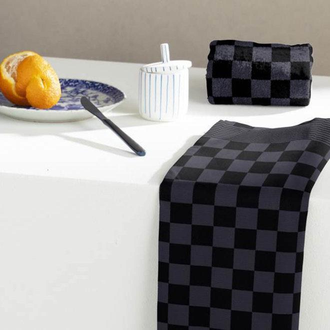 Tea towel barbeque black - anthracite
